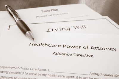 planning for incapacity - will, power of attorney documents