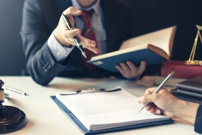 attorney and estate planning client
